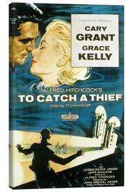 Stampa su tela  To Catch a Thief (Caccia al ladro)
