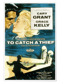 Poster Premium  To Catch a Thief (Caccia al ladro)