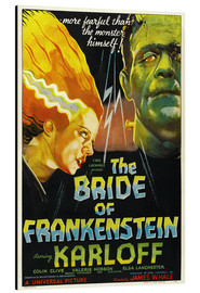 Alluminio Dibond  The Bride of Frankenstein