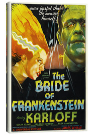 Tela  The Bride of Frankenstein