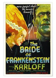 Poster  The Bride of Frankenstein