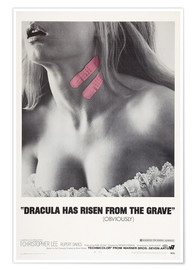 Poster  Dracula Has Risen from the Grave