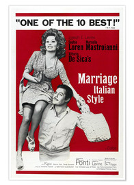 Poster  Marriage Italian Style