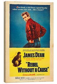 Stampa su tela  Rebel Without a Cause
