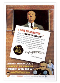 Poster Premium  Rear window