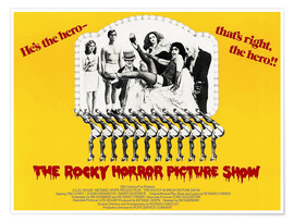 Poster Premium  The Rocky Horror Picture Show