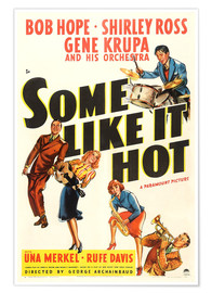 Poster Premium  Some Like It Hot