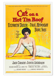 Poster Premium Cat on a Hot Tin Roof