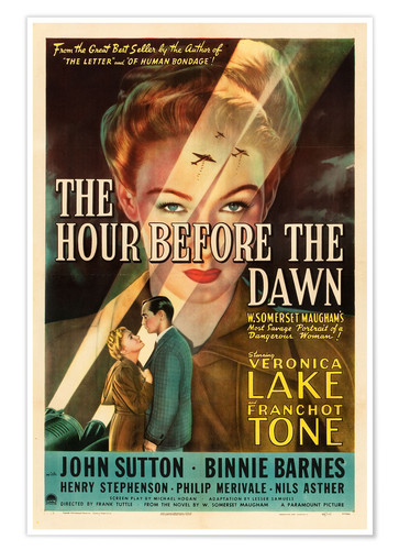 Poster Premium The hour before dawn