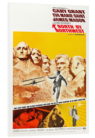 Stampa su schiuma dura  North by Northwest (Intrigo internazionale)