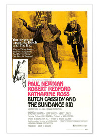 Poster Premium BUTCH CASSIDY AND THE SUNDANCE KID
