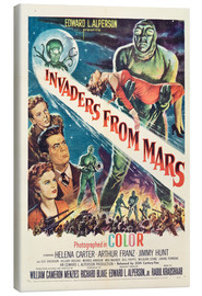 Stampa su tela  Invaders from Mars