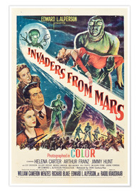 Poster Premium  Invaders from Mars