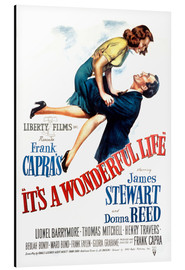 Stampa su alluminio  It's a Wonderful Life