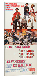 Stampa su alluminio  The Good, the Bad and the Ugly