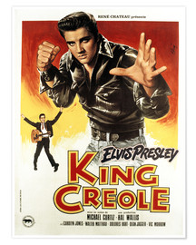 Poster Premium  King Creole