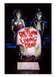 Poster Premium  The Return of the Living Dead