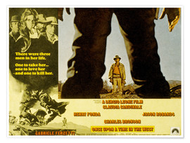Poster Premium Once Upon a Time in the West (C'era una volta il West)