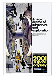 Poster Premium 2001: A SPACE ODYSSEY
