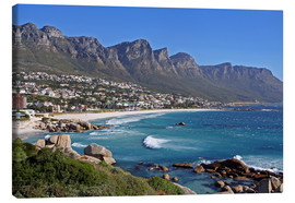 Stampa su tela  Camps Bay, Cape Town, South Africa - wiw