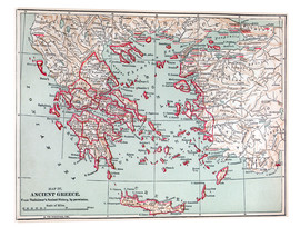 Vetro acrilico  Map: Ancient Greece