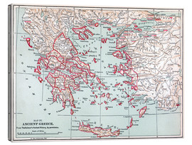 Tela  Map: Ancient Greece