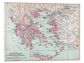 Forex  Map: Ancient Greece