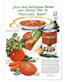 Poster Premium  Campbell Soup