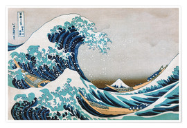 Poster Katsushika The Great Wave