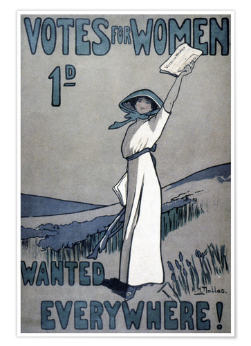 Poster Premium Women's Rights