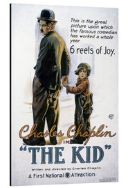 Stampa su alluminio  Chaplin: The Kid, 1920