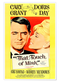 Poster Premium  THAT TOUCH OF MINK, 1962