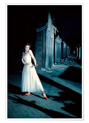 Poster Premium The Red Shoes, Moira Shearer
