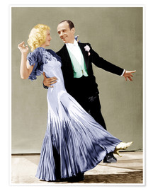 Poster Premium  THE GAY DIVORCEE, Ginger Rogers, Fred Astaire