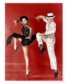Poster Premium  THE BAND WAGON, from left: Cyd Charisse, Fred Astaire, 1953