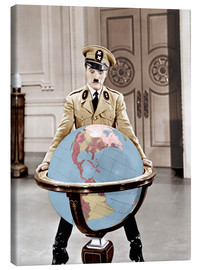 Stampa su tela  The Great Dictator - Charlie Chaplin