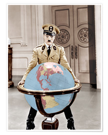 Poster  The Great Dictator - Charlie Chaplin