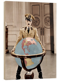 Legno  The Great Dictator - Charlie Chaplin