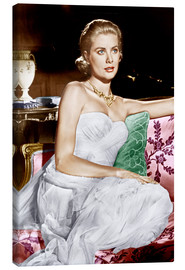 Stampa su tela  To Catch a Thief, Grace Kelly, 1955