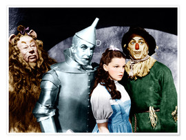 Poster Premium The Wizard of Oz