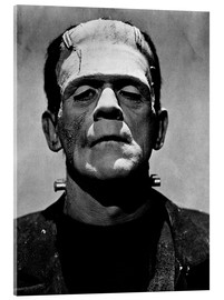 Vetro acrilico  Boris Karloff as Frankenstein