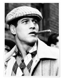 Poster Premium  SOMEBODY UP THERE LIKES ME, Paul Newman