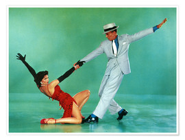 Poster Premium  THE BAND WAGON, Cyd Charisse, Fred Astaire, 1953