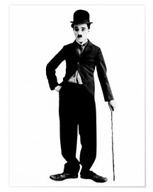 Charlie Chaplin with walking stick