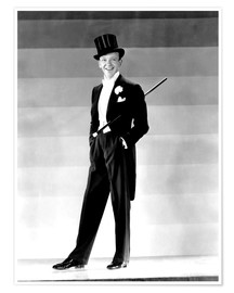 Poster Premium  Fred Astaire in 1930