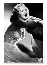 Poster  ALL ABOUT EVE, Marilyn Monroe