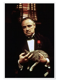 Poster  The Godfather-Marlon Brando