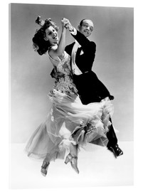 Stampa su vetro acrilico  Rita Hayworth and Fred Astaire