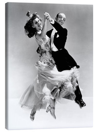 Tela  Rita Hayworth and Fred Astaire