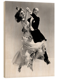Legno  Rita Hayworth and Fred Astaire